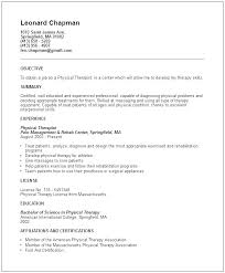 Spa Therapist Resume Beauty Therapist Template Sample Resume For Spa