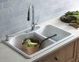 enamel over cast iron sinks porcelain sink repair kitchen