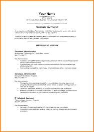 7 Personal Resume Samples Address Example