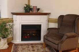 Corner Electric Fireplace From DutchCrafters Amish FurnitureAmish Electric Fireplace