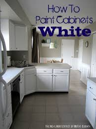 paint cabinets whiteHow to Paint Cabinets White  East Coast Creative Blog