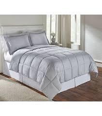 living quarters reversible gray king micro fiber down alternative comfortable 54 99