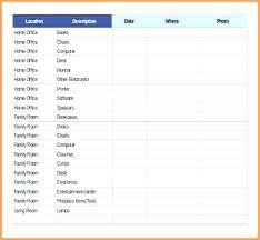 Spreadsheet Inventory Template Agencycom Info