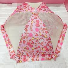 Cartoon home insulation cover dish cover Melody rice cover kt meals dust  cover cover umbrella folding table cover | Shopee Malaysia