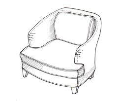 Chair Drawing at GetDrawingscom Free for personal use Chair