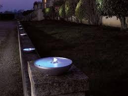 image of copper led outdoor landscape lighting