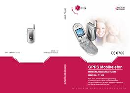 LG C1100 Owner's manual