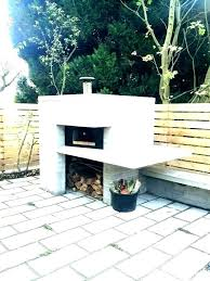 fireplace pizza oven combo outdoor fireplace pizza oven combo plans cooking phoenix completed building fire