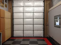 lowes garage door insulationGarage Doors  Nasa Tech White Reflective Foam Core Car Garage