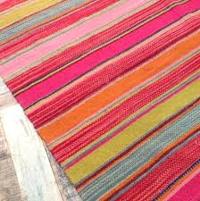pink and green rug pink and orange striped rugs orange striped