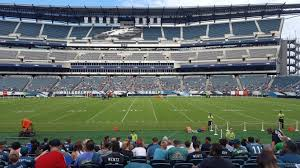 seat view for lincoln financial field section 121