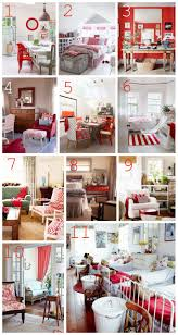decorating with red furniture. Great Inspiration For Decorating With Doses Of Red! Red Furniture