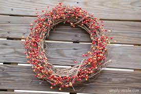 DIY Simple Fall Grapevine Wreath