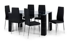 auckland glass dining table 6 chairs thanet beds brilliant tables and