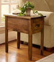 Rustic End Tables For Living Room Best Table Decoration