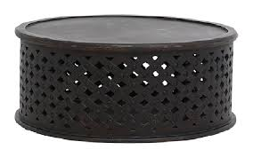 Get the best deals on rattan coffee tables. Bagru Coffee Table In Distressed Black By Ozdesignfurniture Style Sourcebook