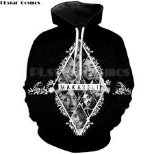 <b>PLstar Cosmos</b> Legendary rapper 2Pac Hoodies 2018 <b>Fashion</b> Hip ...