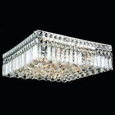 ceiling mounted crystal chandelier locoa chrome