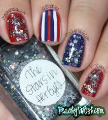 4th of July Nail Art x 4! - Peachy Polish