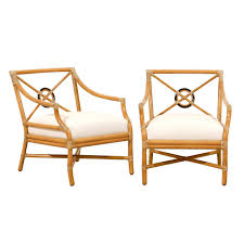 mcguire furniture company. Beautiful Pair Of Vintage Bamboo Target Back Lounge Chairs By McGuire For Sale Mcguire Furniture Company E