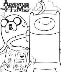 Small Picture Adventure Time Coloring Pages Best Coloring Pages For Kids