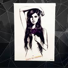 Art Dhgate Temporary Black com Sticker Angel Sketch Beauty 478 Women Tatoo Naked Ahb 25 Body Stickers Tattoos 3 From Paste Flower Girl Tattoo Rose Fake Waterproof Beautys8