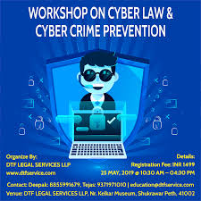 Cyber Law Cyber Law Crime Tickets By Dtf Legal Services Llp 25 May 2019 Pune Event