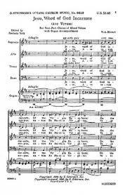 ave verum corpus sheet music w a mozart ave verum corpus satb presto sheet music