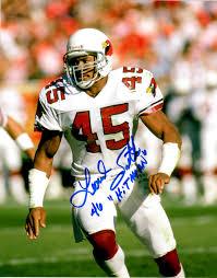 Leonard Smith Signed Photo - 8X10 St Louis Cardinals