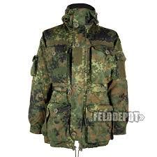 Leo Köhler Ksk Combat Jacket Smock Flecktarn Felddepot