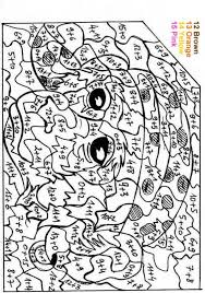 Color By Number Coloring Pages For Adults Adult Color Number
