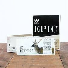 Epic <b>Venison Sea Salt Pepper</b> Bar, 12 ct Granola Bars | Meijer ...