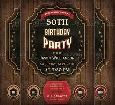50th birthday invitation templates free 45 50th birthday invitation templates free sample example