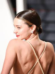 miranda s wedding day bun was almost the exact same as the one she rocked at this year s vanity fair os party