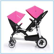 Designer Twin Prams Good Looking High Quality Fashion Stroller For Twins Double