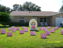 Yard Decorations For Birthdays Elegant 0 Front Yard Smiles Received A Call  From Judy Who Wanted To Surprise