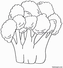 Fruits And Vegetables Coloring Sheet With Colouring Pages Also