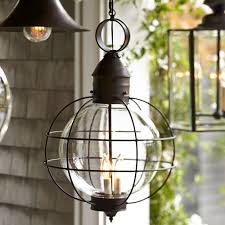 Outdoor Globe Pendant Light Us 124 6 11 Off Iron Industrial Loft Outdoor Pendant Lamp Globe Multipurpose Hanging Lights For Garden Aisle With Glass Lampshade In Outdoor Wall