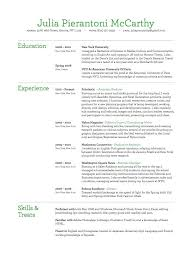 Sorority Rush Resume Template