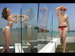 แซ่บเวอร์!! ซี ศิวัฒน์ & เอมี่ กลิ่นประทุม ควงคู่ถ่ายนิตยสาร IMAGE  แฟชั่นซัมเมอร์ชุดว่ายน้ำปี 2014