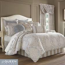 romano ice comforter set steel blue