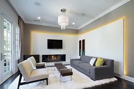 gorgeous living room contemporary lighting. Gorgeous Sheepskin Rug In Living Room Contemporary With Next To Drywall Returns Alongside Exterior Trim Lighting