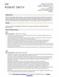 Resume Examples Lpn