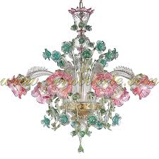 elisa murano glass chandelier for chandeliers decor 0