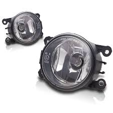 ford transit connect fog light lamps pair w wiring kit color finish material