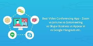Best Video Conferencing App Skype Vs Hangouts Vs Gotomeeting Vs