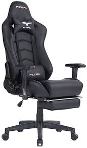 ficmax ergonomic high back large size office desk chair swivel black pc gaming chair with