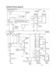 repair guides wiring diagrams wiring diagrams 10 of 103 cellular phone system electrical schematic acura accessory 2003