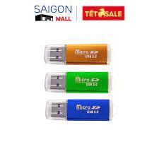 Đầu đọc thẻ nhớ microSD USB 2.0 A2 chính hãng