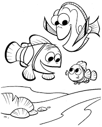 Adult Finding Nemo Coloring Pages Finding Nemo Giant Coloring Pages